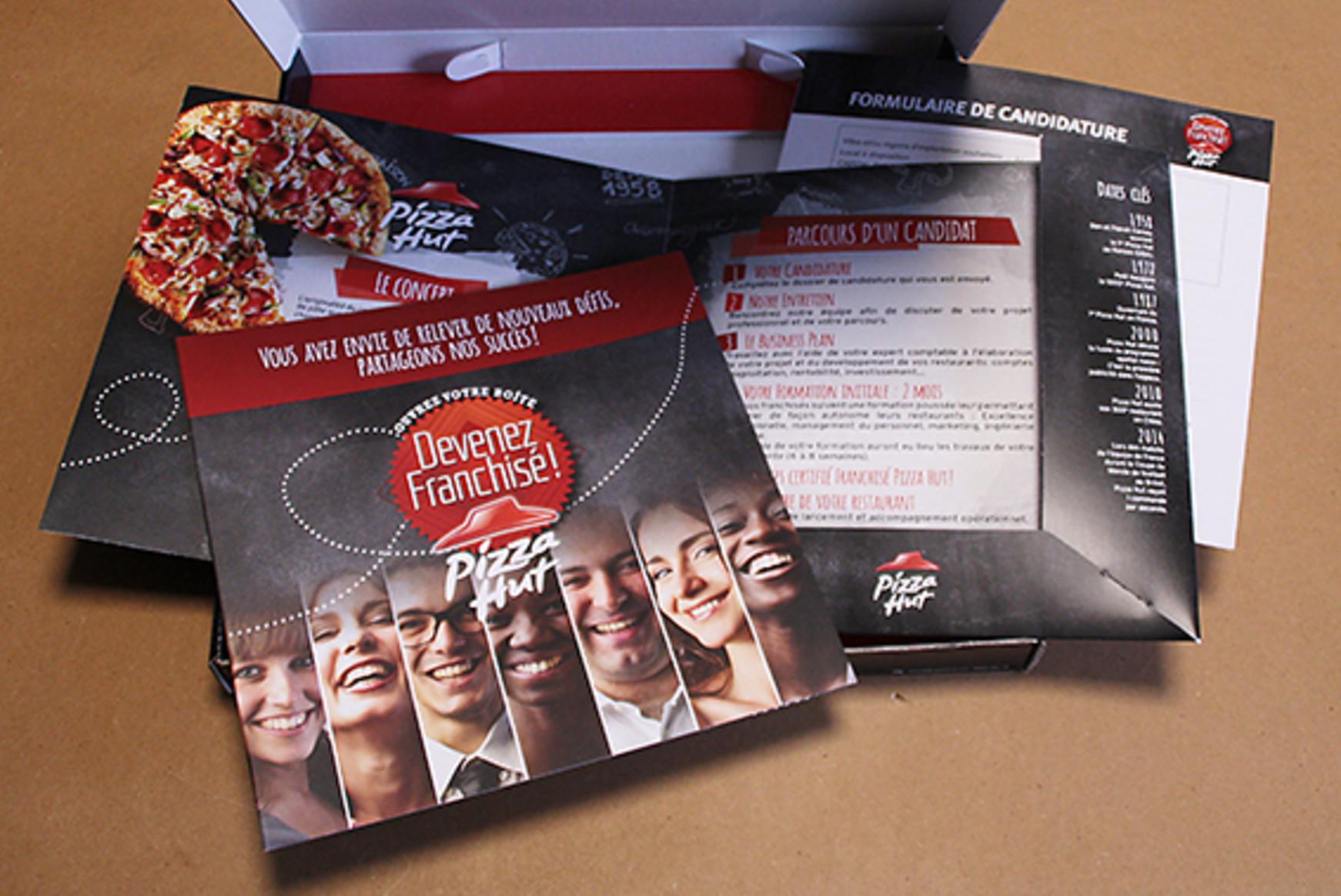 Réalisation des nouveaux outils de recrutement de franchisés pour Pizza Hut France by Pogo Partners