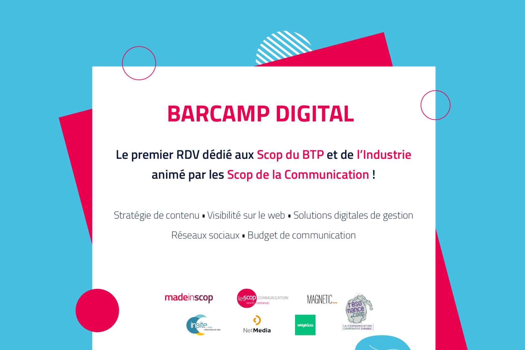 Barcamp digital !